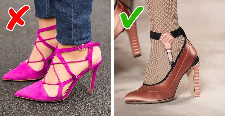 Đây là ví dụ hoàn hảo khi một vật liệu không thực tế sẽ được thay thế bằng vật liệu khác. Ngày nay, vải atlas đã thay thế nhung, loại vải mà khi mang giày, bạn cần đi bộ rất cẩn thận, cố gắng bảo vệ chúng khỏi bụi bẩn và những thứ rất khó để làm sạch. Những đôi giày này đã xuất hiện trong các chương trình thời trang của Zimmermann, Miu Miu, Dries Van Noten, Proenza Schouler, Simone Rocha và Giambattista Valli để bạn chọn lựa.