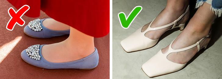 Giày đế bằng mũi tròn là một kiểu lỗi thời có thể khiến bất kỳ biên tập viên nào của một tạp chí thời trang ngáp. Mùa xuân này, chúng ta nên đủ can đảm để ít nhất đi những đôi giày mũi nhọn như những đôi giày mà Gucci, Haider Ackermann, Saint Laurent và Michael Kors Collection cung cấp cho chúng ta. Nhưng những đôi giày mũi vuông như những đôi từ Miu Miu, Proenza Schouler và DROMe sẽ ở đỉnh cao của sự nổi tiếng.