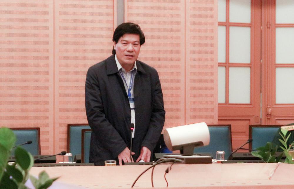 Bị can Nguyễn Nhật Cảm - Giám đốc CDC Hà Nội.