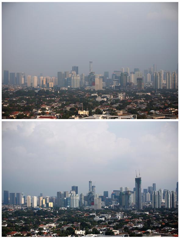 Một tín hiệu đáng mừng về môi trường được ghi nhận tại một khu vực khác ở thủ đô Jakarta, Indonesia.
