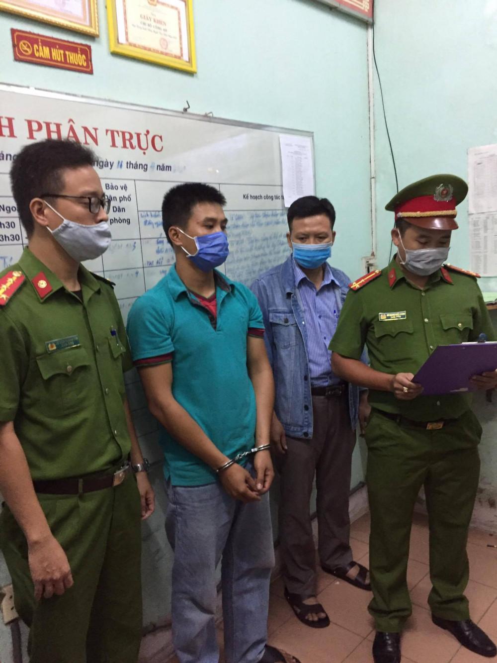 Bắt tạm giam đối tượng Trương Đức Sang