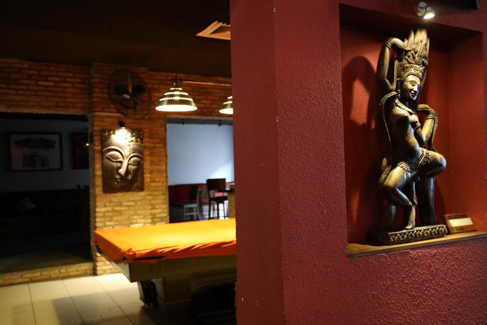 Quán ăn Thái B.V.D.D.H.A – được biết đến với tên bar Buddha