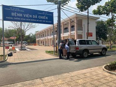 Bệnh viện Dã chiến (huyện Củ Chi, TPHCM) hiện không còn trường hợp mắc COVID-19 nào điều trị tại đây.