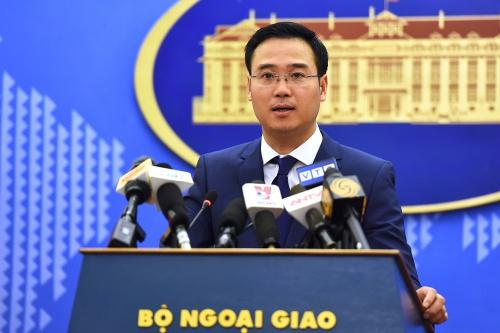 Phó phát ngôn Bộ Ngoại giao Việt Nam Ngô Toàn Thắng