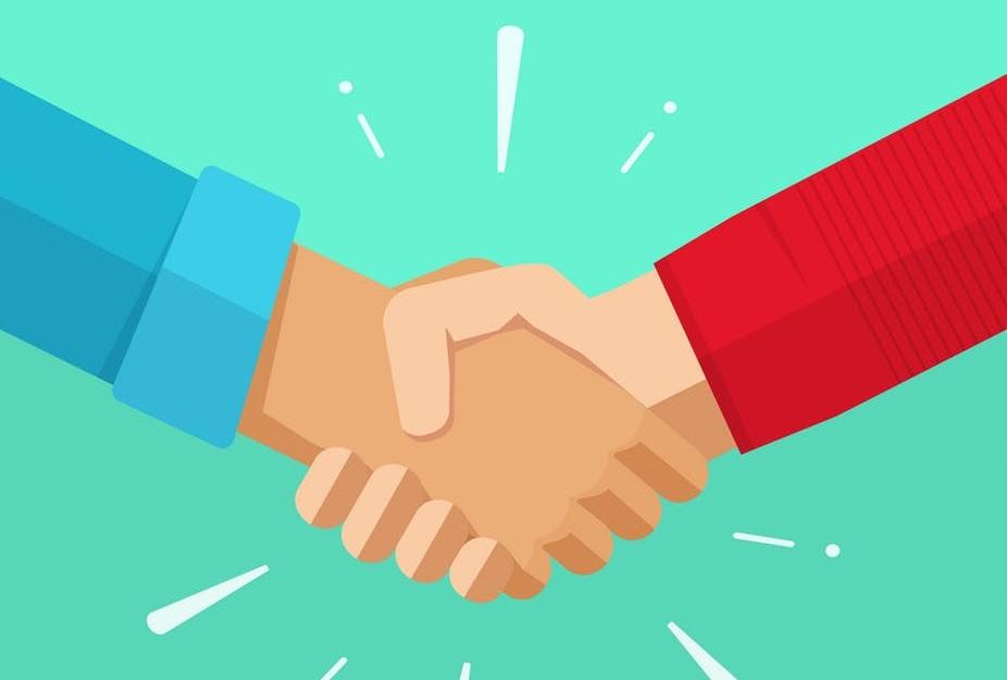 Bỏ thói quen bắt tay sau khi bệnh COVID-19 xuất hiện.