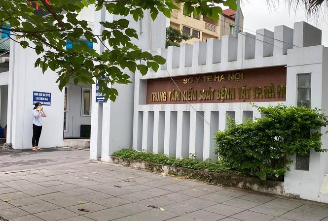 Trụ sở Trung tâm kiểm soát bệnh tật Hà Nội