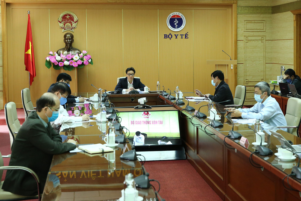 Toàn cảnh cuộc họp Ban chỉ đạo Quốc gia.