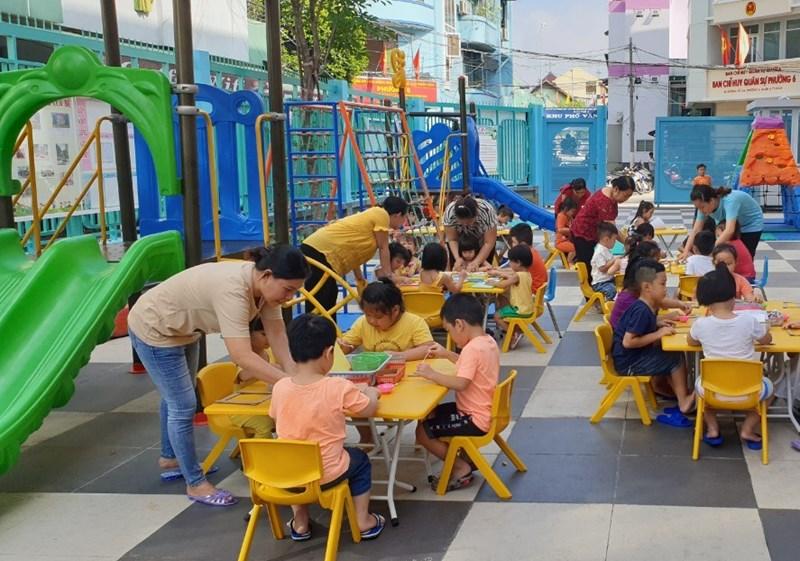 TP.HCM đã ban hành bộ tiêu chí an toàn trong trường mầm non