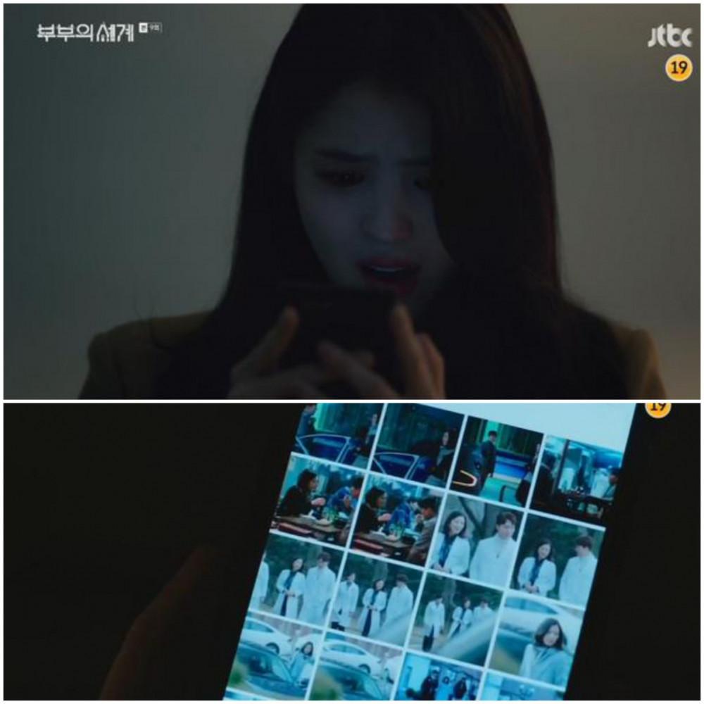 Da-kyung đâu đớn khi phát hiện Tae-oh còn vương vấn Sun-woo.