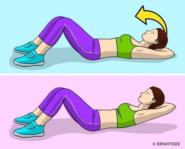 Squats với trọng lượng nặng Một kênh tập thể dục phổ biến dành cho phụ nữ, Workout, tuyên bố rằng khi bạn tập squats với tạ nặng, bạn không chỉ tập phần cơ cốt lõi mà còn cả cơ bụng và cơ cột sống chắc chắn điều này sẽdẫn đến sự phát triển của khối cơ quanh eo.