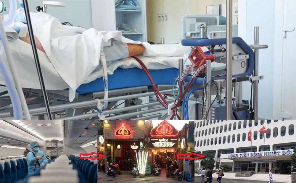 Quá trình viên phi công Vietnam Airlines mắc bệnh COVID-19.