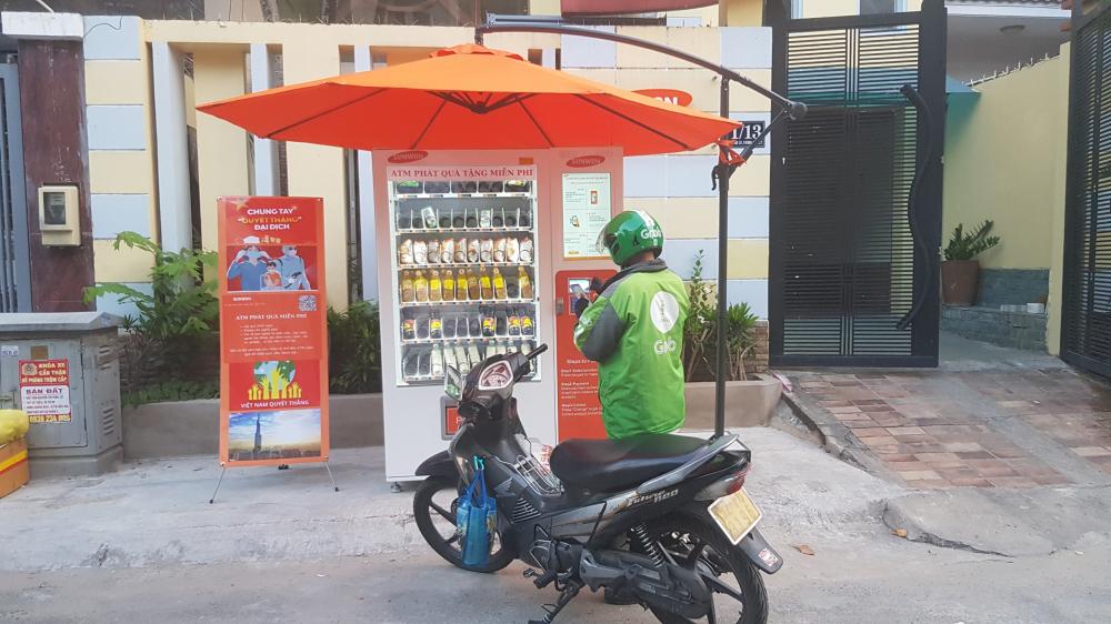 Ngoài hai máy trong khuôn viên UBND phường Bình An, Sunwon còn lắp một ATM nữa tại địa chỉ 1/13 đường 33, phường Bình An, quận 2.