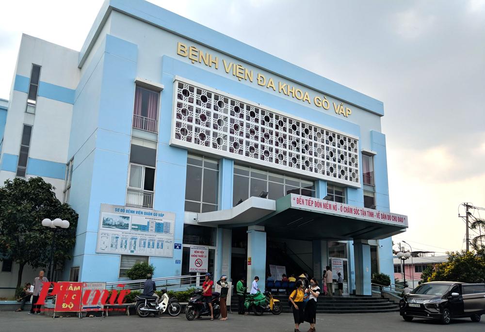 Bệnh viện quận Gò Vấp - nơi xảy ra nghi án giám đốc bệnh viện đầu cơ khẩu trang y tế. Ảnh: Hiếu Nguyễn