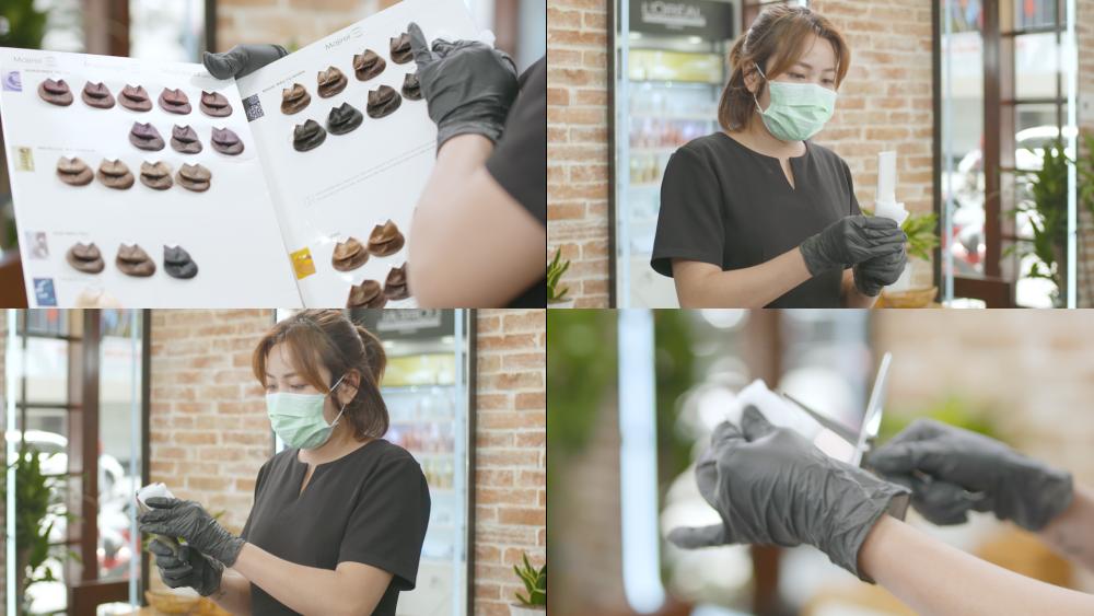 Để tạo sự yên tâm cho khách hàng, một số tiệm làm tóc còn thuê đội phun khử trùng về xịt khử trùng đồng thời cho nhân viên tham gia tham gia các khóa học phòng và ngừa lây nhiễm corona theo sự hướng dẫn của Family Medical Practice Việt Nam để phục vụ khách hàng mùa dịch.
