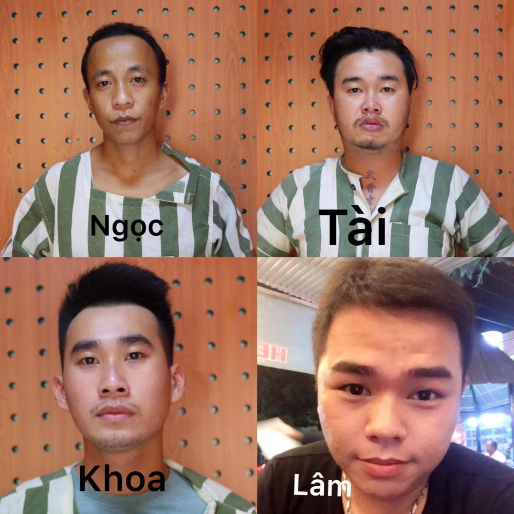 4 đối tượng bị bắt tạm giam 4 tháng