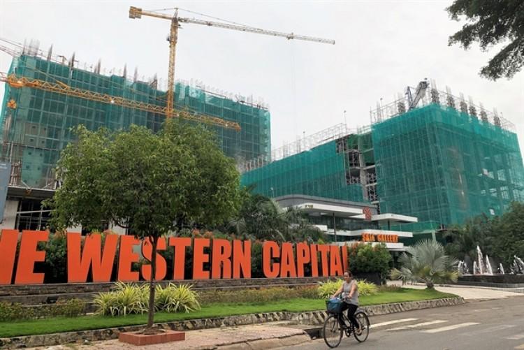Dự án The Western Capital sắp giao nhà cho khách hàng bất ngờ xin xây thêm 222 căn hộ