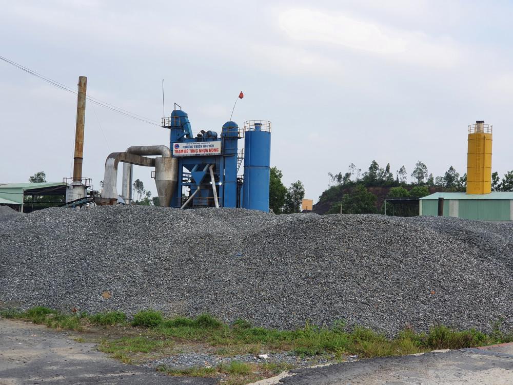 Trạm sản xuất bê tông nhựa nóng của Công ty TNHH Phương Thiên Nguyên