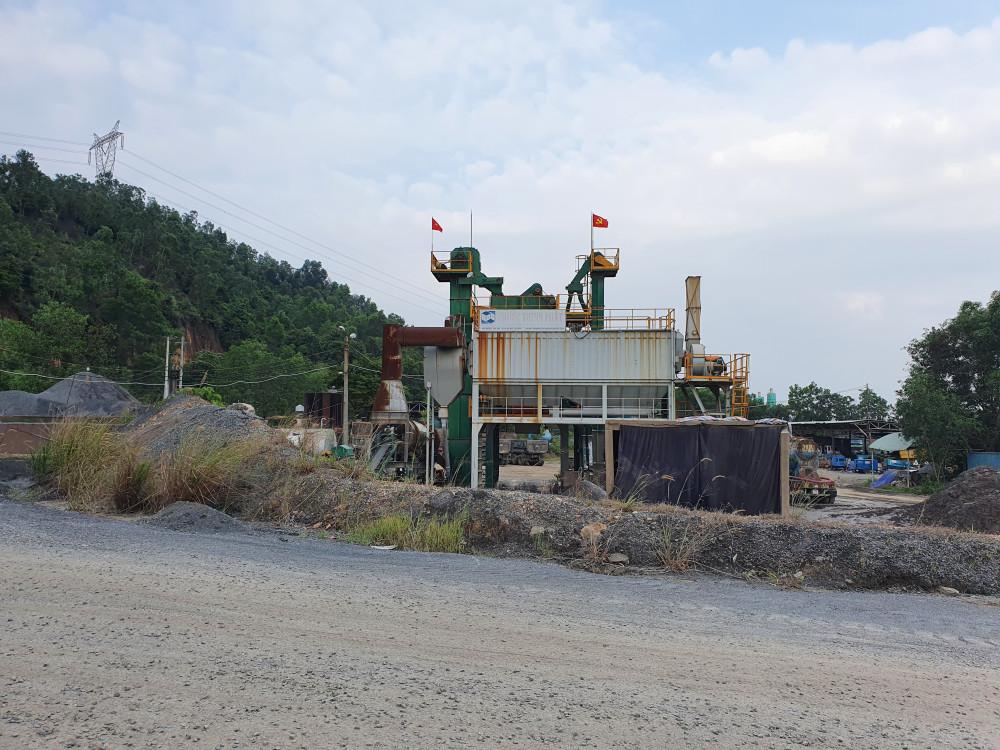 Trạm sản xuất bê tông của Công ty TNHH Phước Thịnh Phát