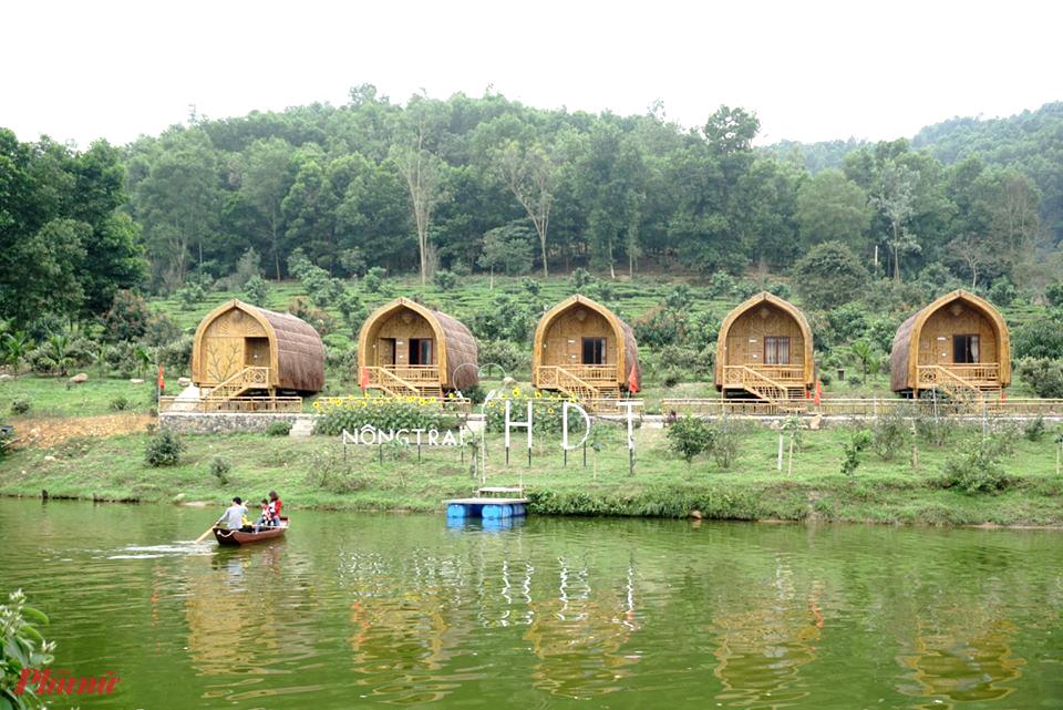 Được xác định là dựng trái phép trên đất rừng sản xuất, song một số công trình được cho là