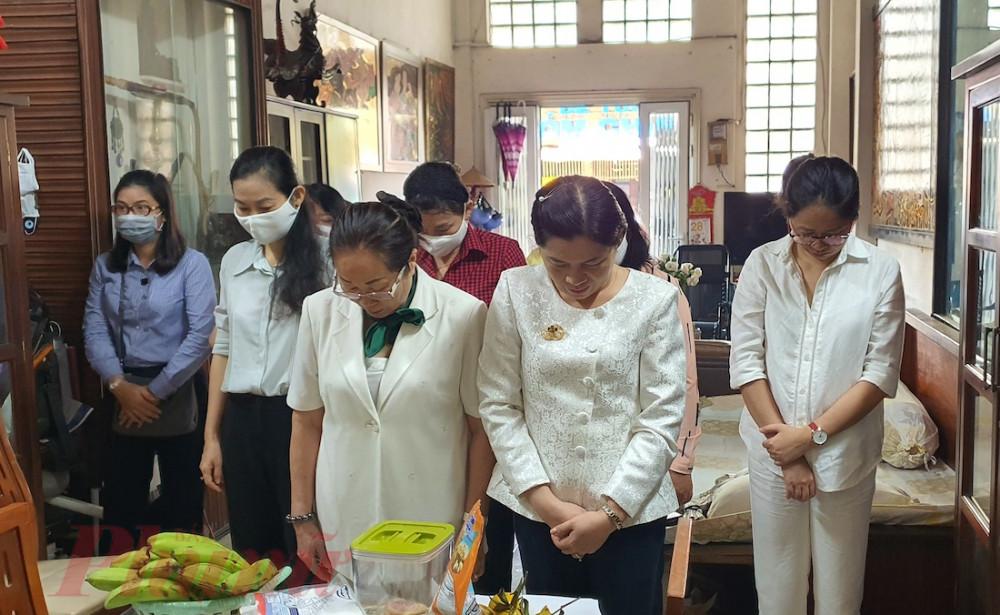 Đoàn cán bộ Hội LHPN TPHCM các thời kỳ, Báo Phụ nữ TPHCM tưởng nhớ cán bộ Ban Phụ vận Sài Gòn -  Gia Định