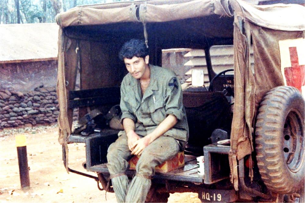 Marc Levy ở Việt Nam, năm 1969 - Ảnh: Marc Levy cung cấp