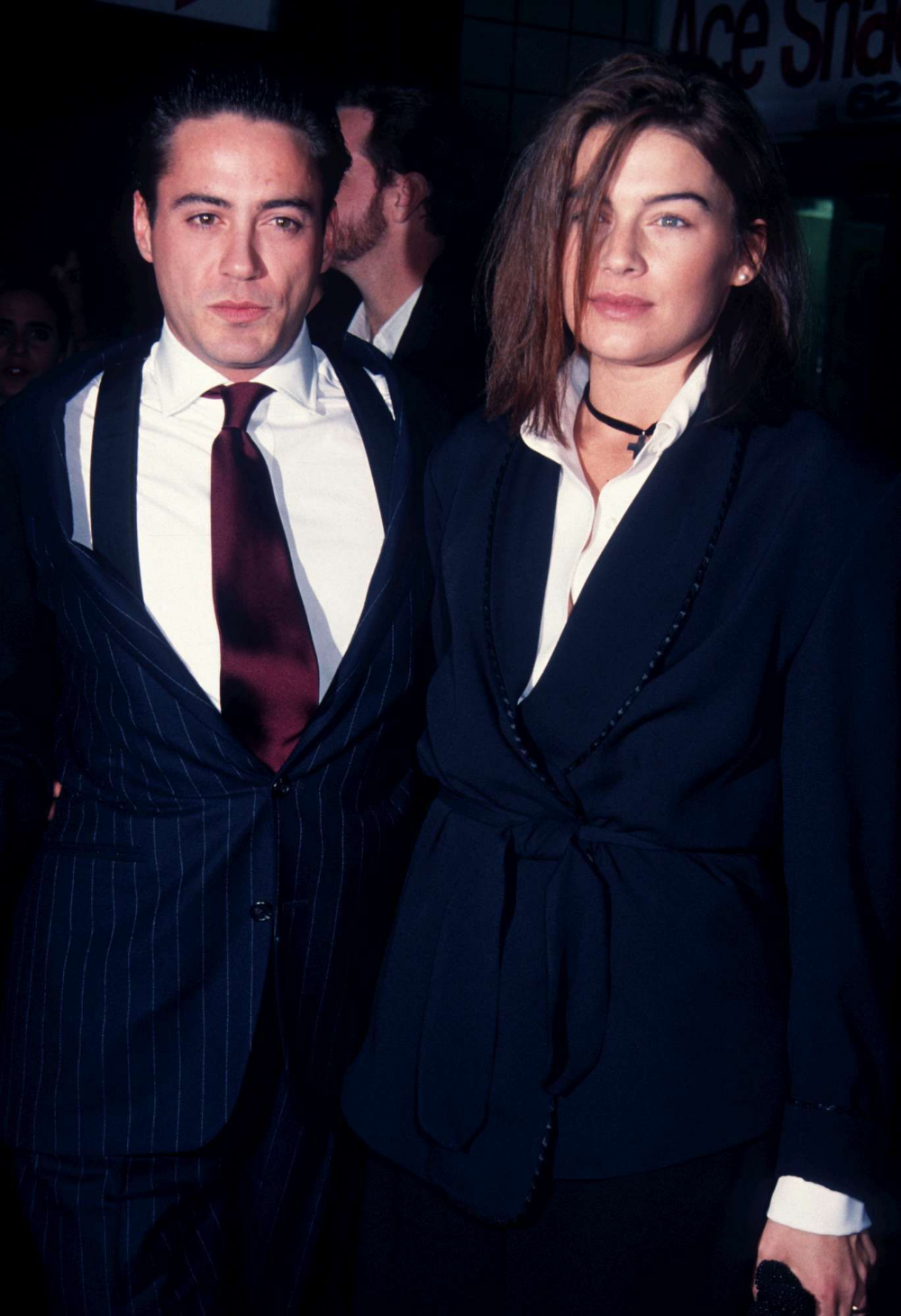 Robert và Deborah Falconer thời mới kết hôn.