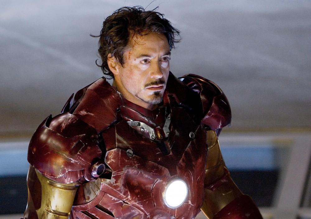 Robert Downey với hình ảnh quen thuộc trong vai Tony Stark.