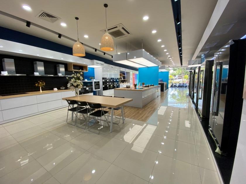 Showroom Bếp Nam Dương chuẩn châu Âu đầu tiên tại TP HCM