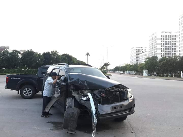 Một vụ TNGT xảy ra tại Hà Nội.