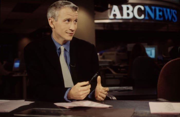 Sau gần bốn năm làm phóng viên quốc tế cho Channel 1, Cooper gia nhập đài ABC với tư cách là phóng viên vào năm 1995.