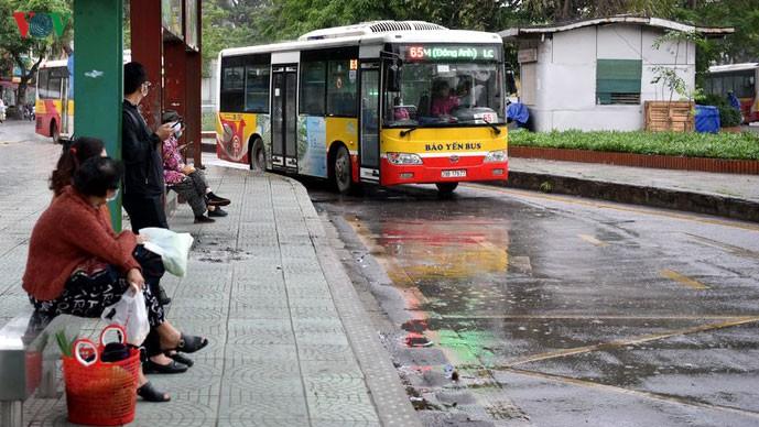 Xe buýt Hà Nội hoạt động 100% từ ngày 4/5 nhưng phải thực hiện các biện pháp phòng dịch COVID-19