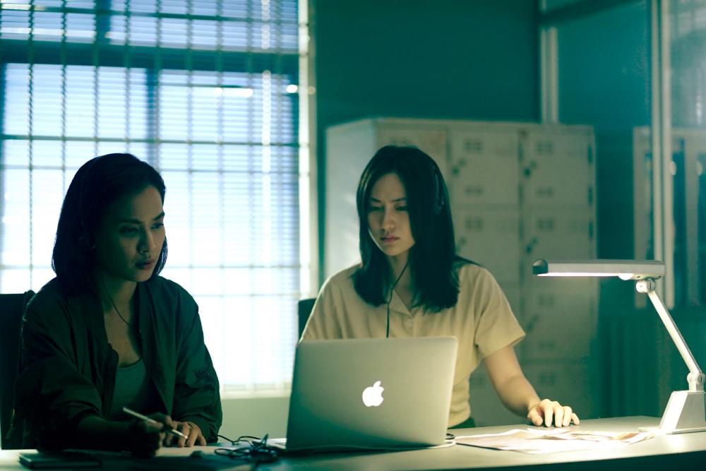 Cảnh trong phim Bằng chứng vô hình - một phim Việt hiếm hoi khai thác đề tài tội phạm  sẽ ra rạp vào hè này