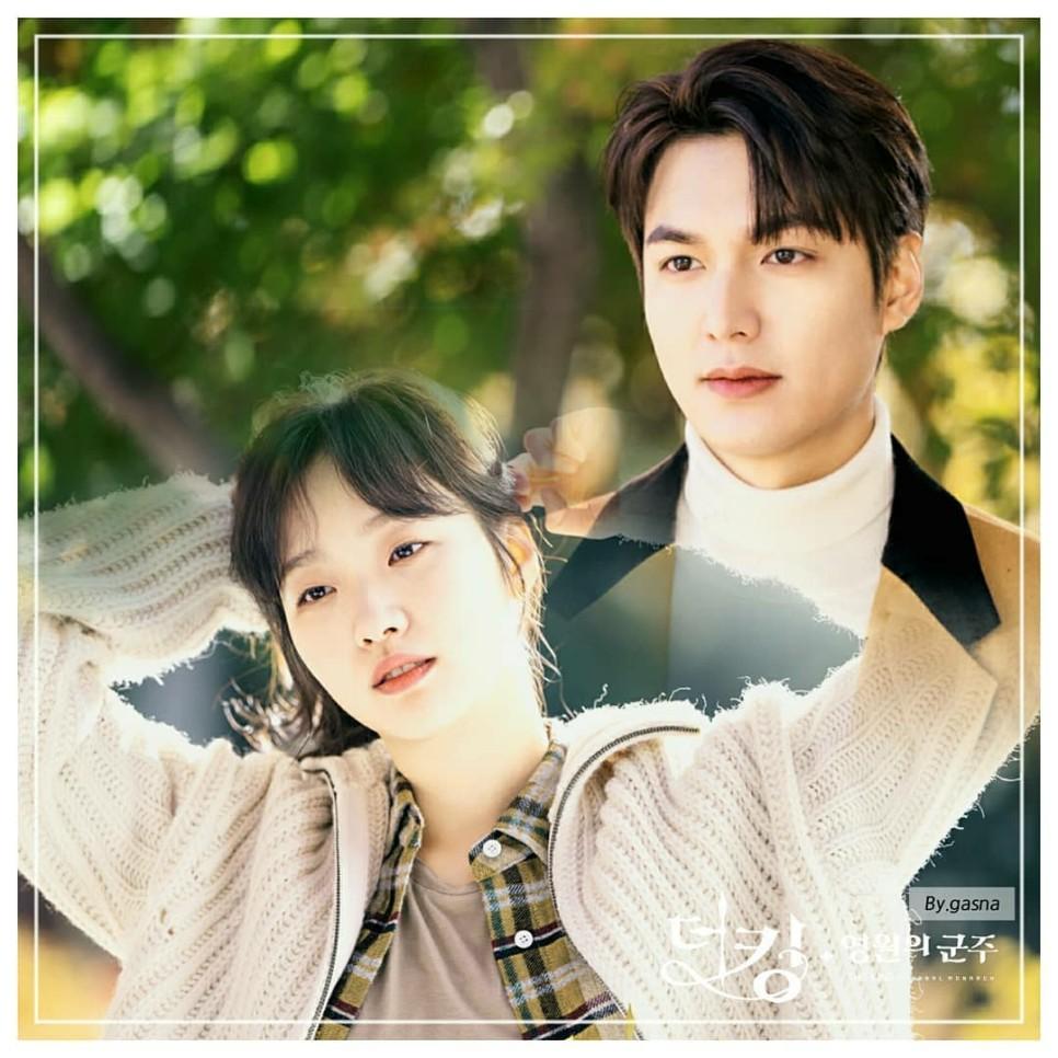 Kim Go Eun và Lee Min Ho trong 'Quân vương bất diệt'.