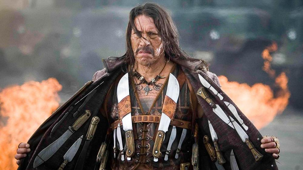 Hình ảnh Daniel Trejo đóng trong phim Machete.