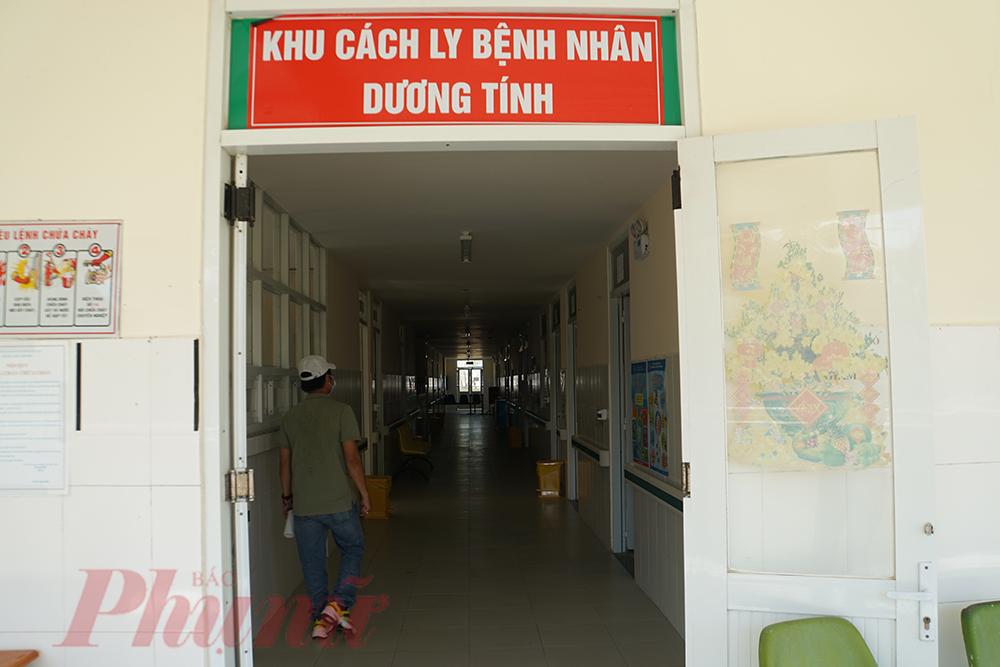 Khu cách ly bệnh nhân dương tính với COVID-19 tại Bệnh viện Điều trị COVID-19 (huyện Cần Giờ, TPHCM)