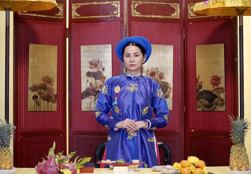 Hình ảnh của Như Phượng trên phim Phượng khấu.
