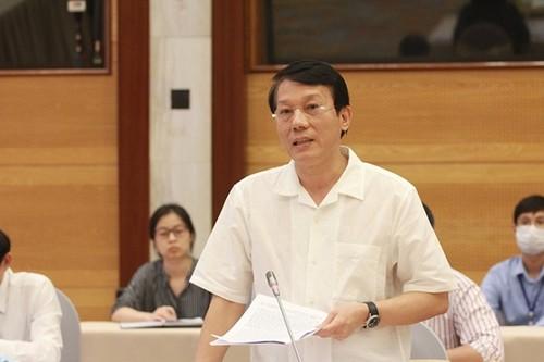 Thứ trưởng Lương Tam Quang.