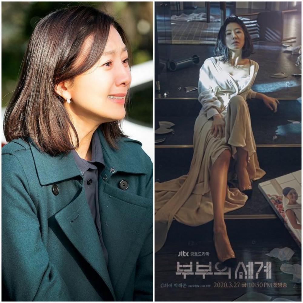 Kim Hee Ae trong tác phẩm 'Thế giới hôn nhân'.