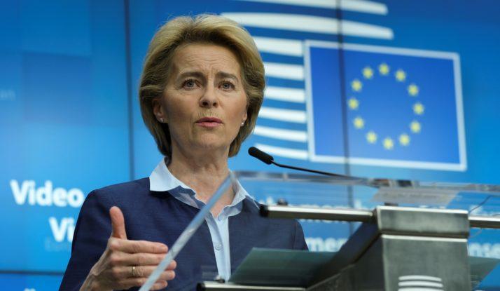 Phát ngôn viên của EU về các vấn đề đối ngoại Virginie Battu-Henriksson tuyên bố EU và 27 quốc gia thành viên sẽ đồng tài trợ nghị quyết kêu gọi điều tra nguồn gốc virus SARS-CoV-2 tại Đại hội Y tế Thế giới - Ảnh: AFP