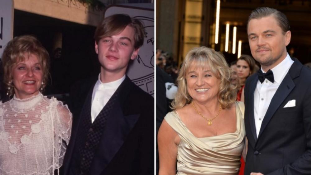 Mẹ là người luôn ủng hộ Leonardo DiCaprio đi theo con đường diễn xuất.