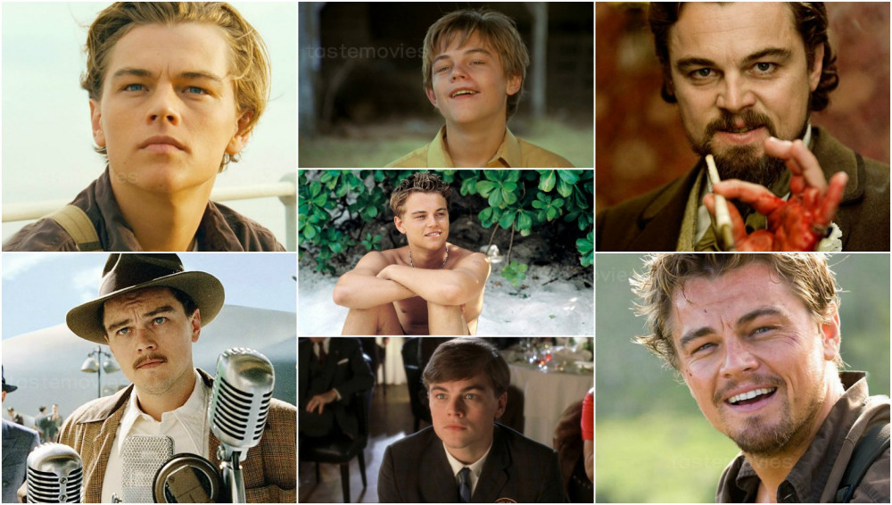 Leonardo Dicaprio và một số hình ảnh khi tham gia các phim.