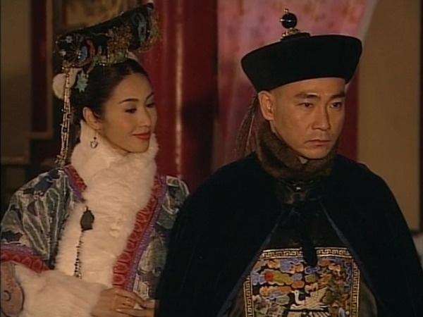 Lâm Bảo Di trong phim Thâm cung nội chiến, phát sóng năm 2004