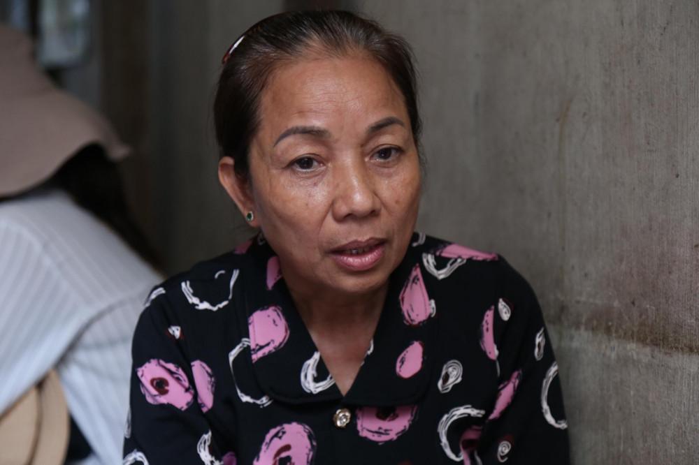 Bà Nguyễn Thị Loan mẹ của tử tù Hồ Duy Hải.