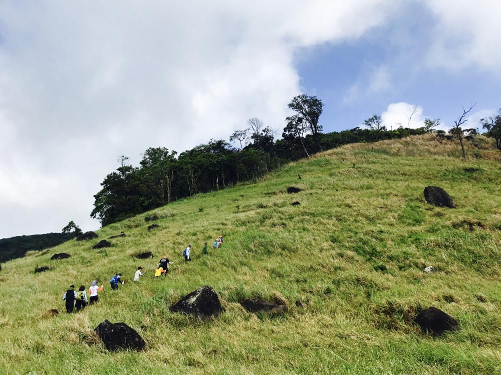 Cung đường trecking núi Chúa
