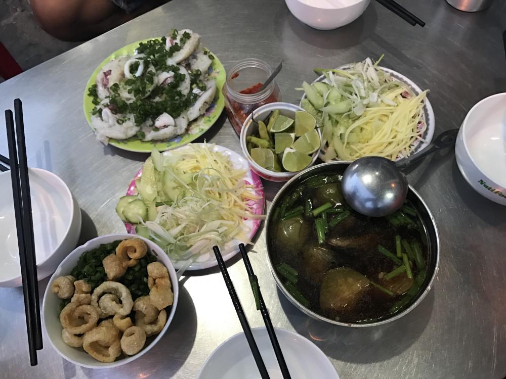 Đến Ninh Thuận không thể không thử món bánh canh