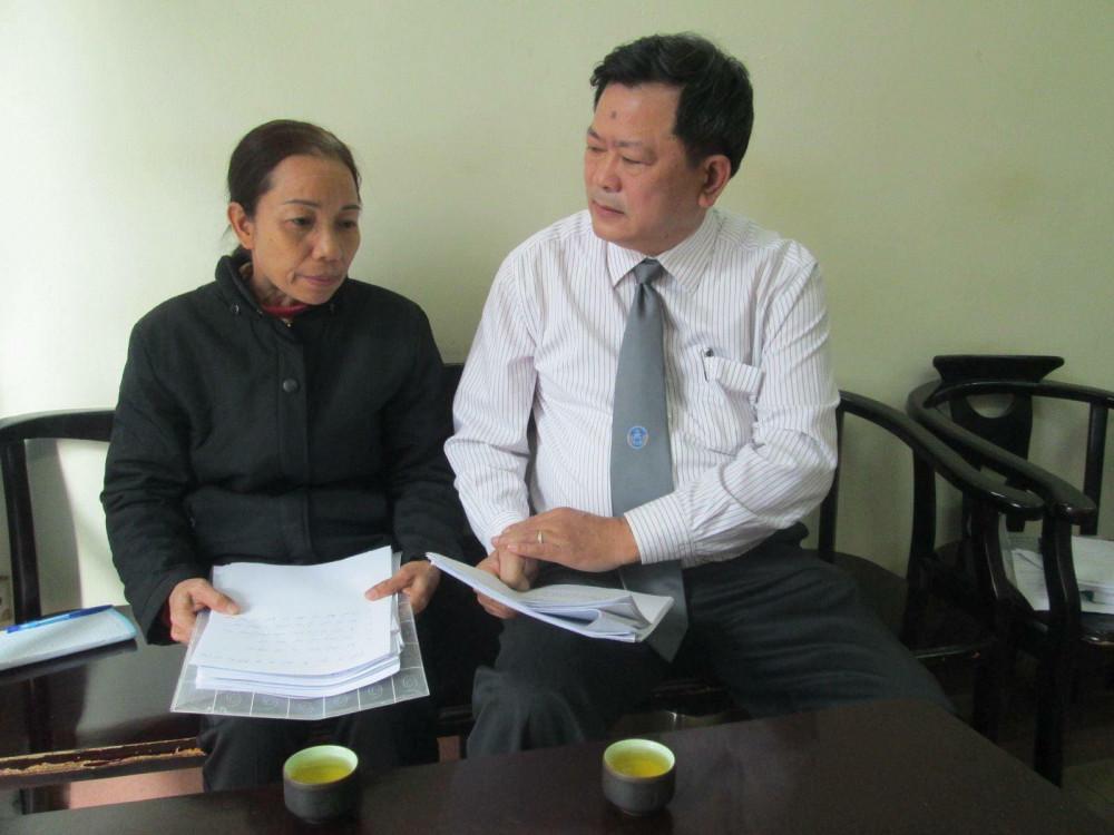 Luật sư Trần Đình Triển và cuộc làm việc với mẹ của tử tù Hồ Duy Hải.
