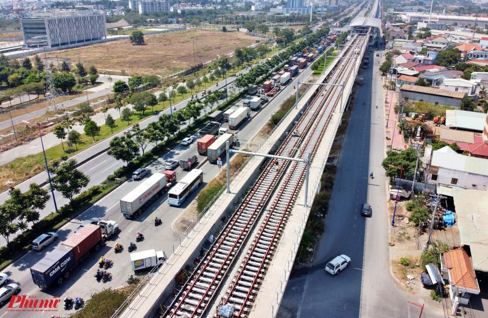 Tuyến metro số 1 Bến Thành - Suối Tiên đang về đích