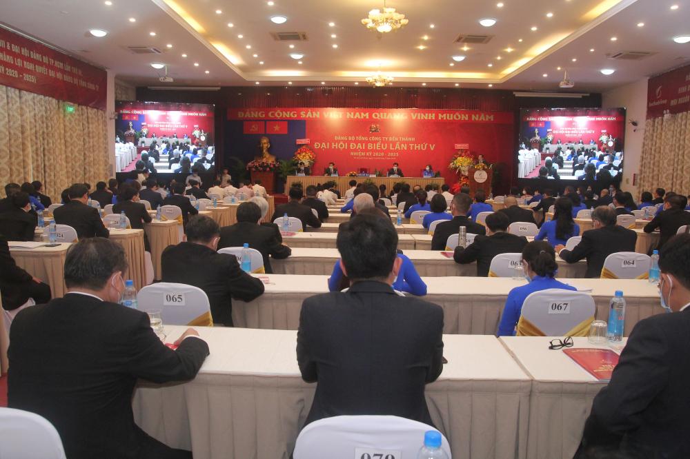 Quang cảnh đại hội chiều 7/5/2020.