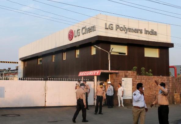 Vụ rò rỉ khí ga xảy ra tại một nhà máy LG Chem tại Ấn Độ.