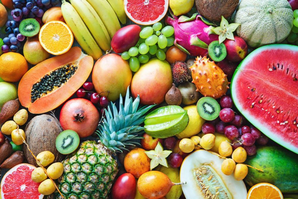 Chế độ ăn uống có nhiều rau xanh, trái cây